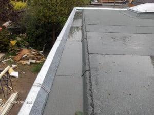 Nieuw dak van een woonhuis