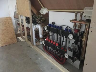 Uitzonderlijk Verbouw woonhuis nieuwe leidingen, ventilatie box, verwarming YM17